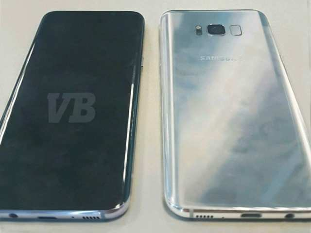 Here's the first look at Samsung Galaxy S8's back panel