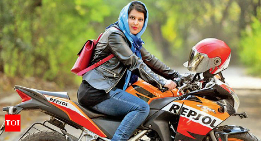 roshni misbah  she vrooms past traditions to make a point