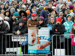Anti-abortion activists hold protest in Washington DC