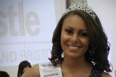 Charm Annice McFarlane the first black woman to be crowned Miss Bristol