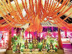 Keshav and Veena's wedding ceremony