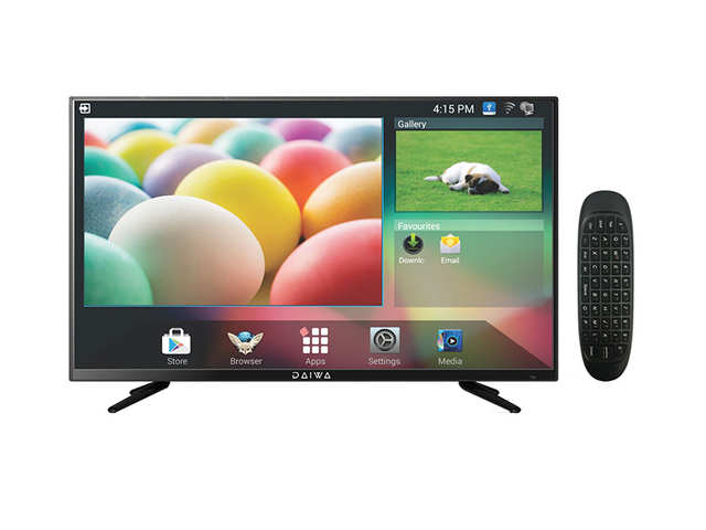 Daiwa launches 40-inch smartTV at Rs 22,990