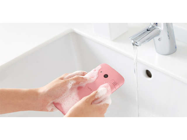 Kyocera launches soap-washable 'Rafre' smartphone in Japan