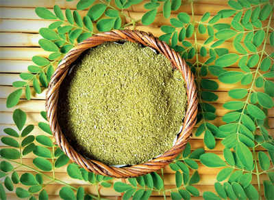 Cracking moringa