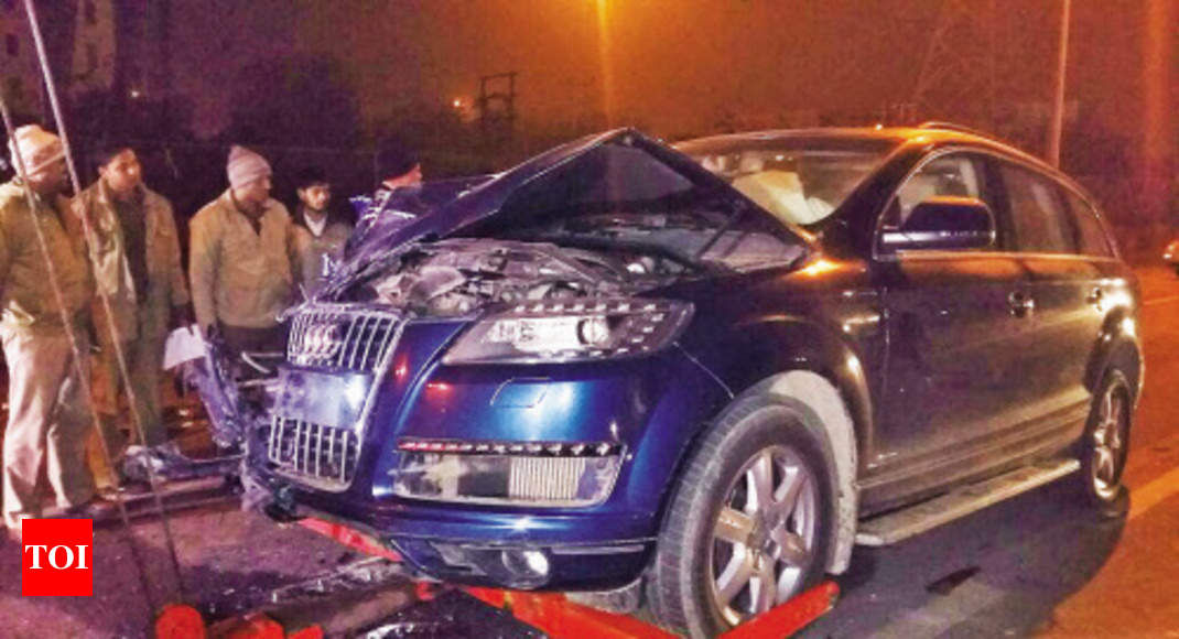 Killer Audi S Owner Surfaces I Was In Car But Not Driving Noida