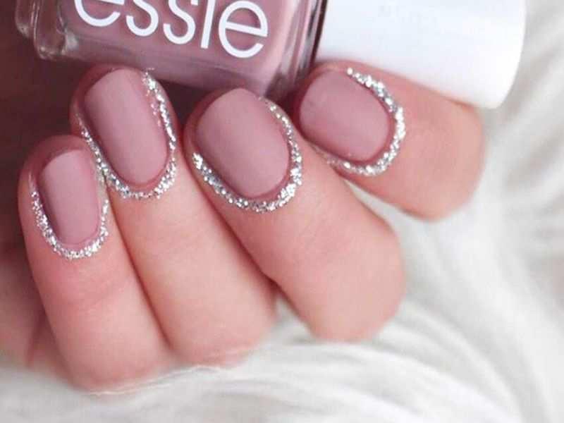 Glitter cuticles are the latest fashion obsession