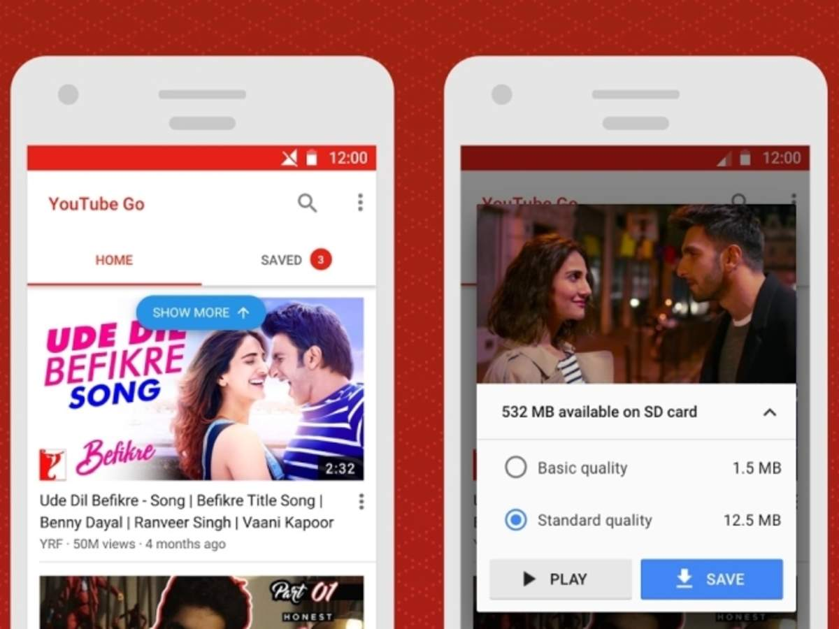 YouTube Go beta for Android now lets you download videos on your