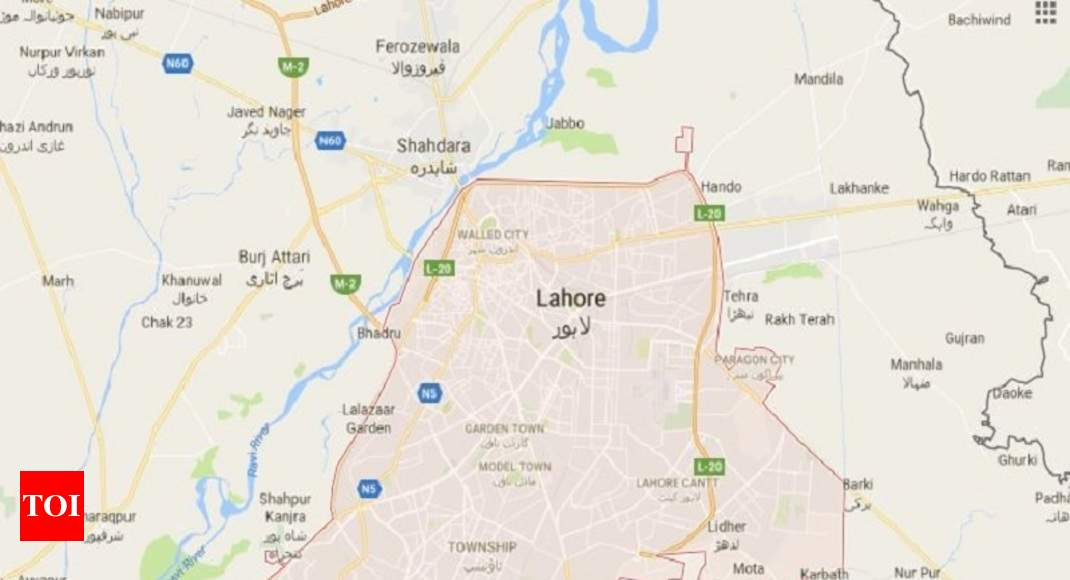 Lahore World Map.Lahore Bomb Blast At Least 16 Dead Several Injured In Blast In
