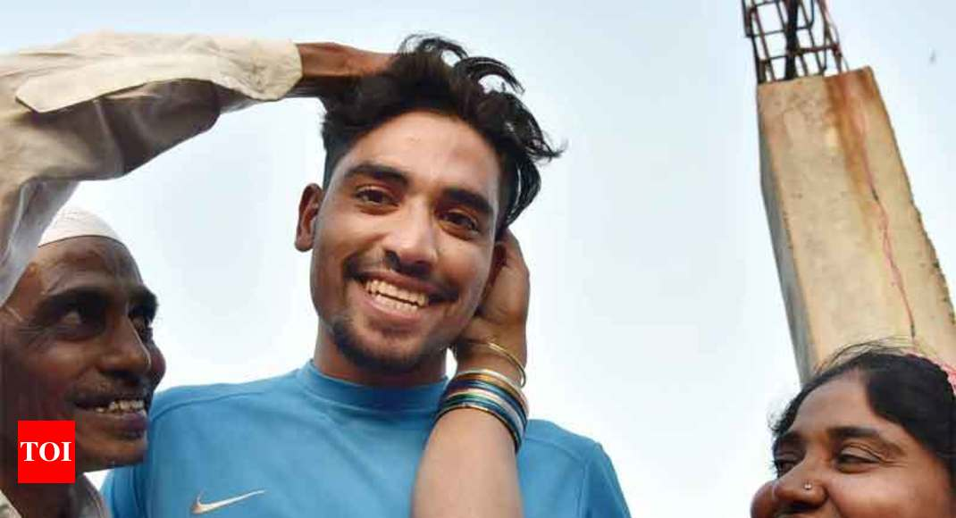Mohammed Siraj Autorickshaw Driver S Son Strikes Gold In