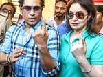 BMC Elections: Celebs cast their votes