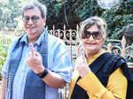 BMC Elections: Celebs cast their votes