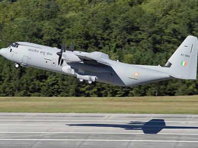 C 130j Super Hercules Aircraft Iaf Admits Super Hercules