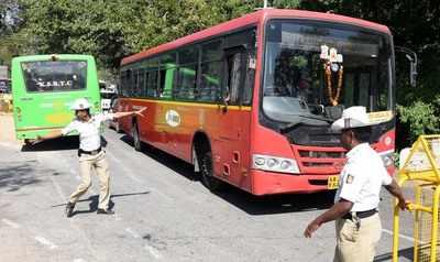 KSRTC: KSRTC fire: Bus conductors to scan passengers