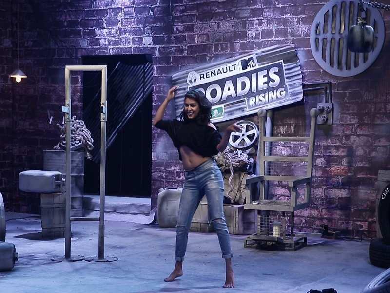 Kirik Party actress in MTV Roadies