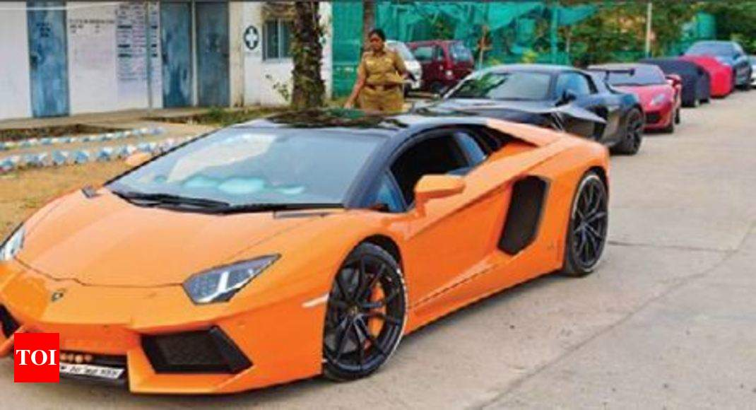 Lamborghini Swanky Racecars Test Police Patience Chennai News