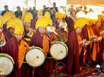 New Year: Buddhist Monks