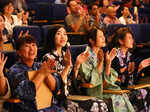 Audience during the second chapter of the All Women World Arts Festival