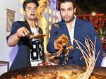 Ravi & Vivian at Times Food & Nightlife Awards 2017