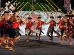 A cultural performance during the Rashtriya Sanskriti Mahotsav 2017