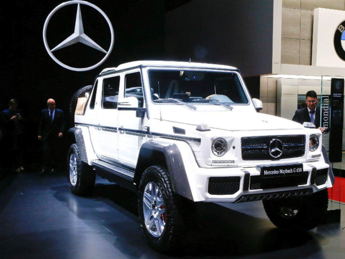 Suv Mercedes Maybach G 650 Landaulets World S Most Expensive Suv At Geneva Motor Show Times Of India