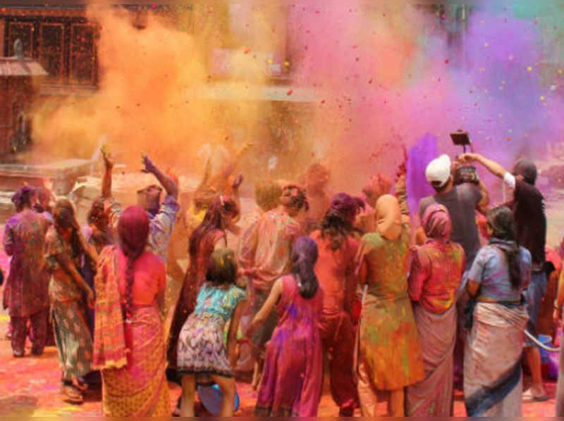 Holi festival: History