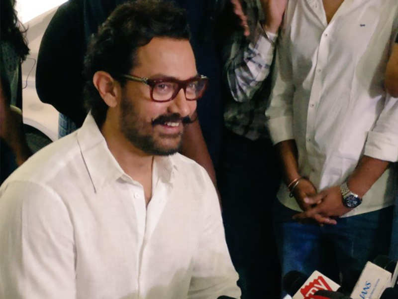 Here's what Aamir Khan has to say about nepotism in Bollywood