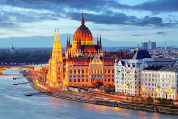 Budapest on a kaleidoscope