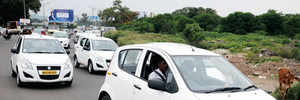 Ola, Uber drivers shift gears; launch their own taxi service