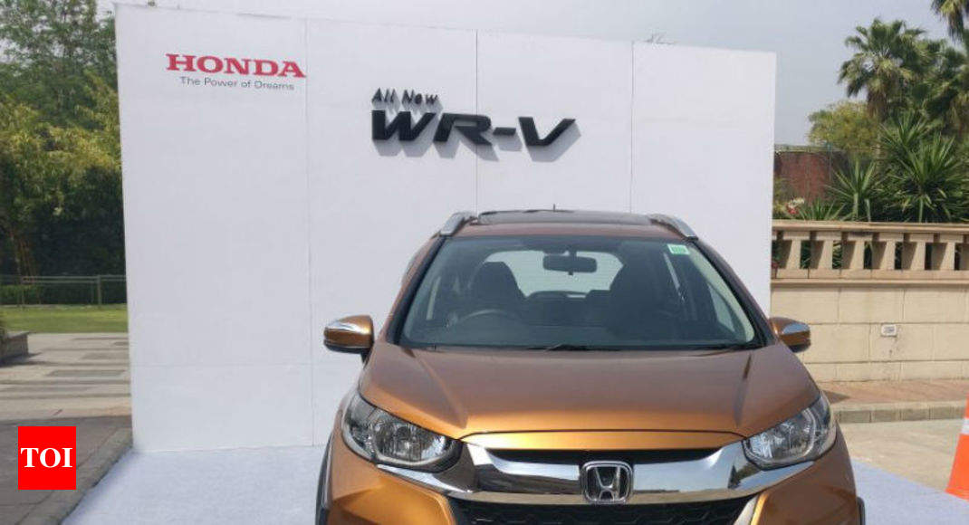 Honda Wrv Price In India Honda Wr V Launched At Starting Price Of