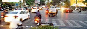 Road rage 'slaps' at JW Marriott junction