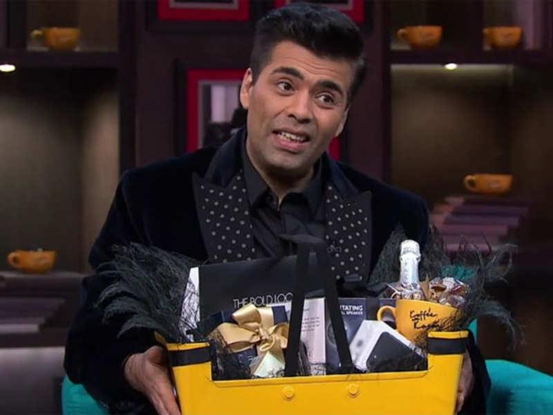 Koffee With Karan Season 5: Karan Johar finally reveals what is inside the hamper