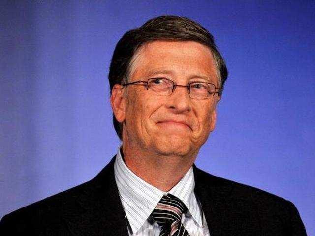 <p>Microsoft co-founder <span>Bill Gates</span></p><p><span><br></span></p>