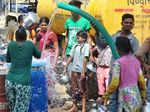People facing water crisis shortage of water