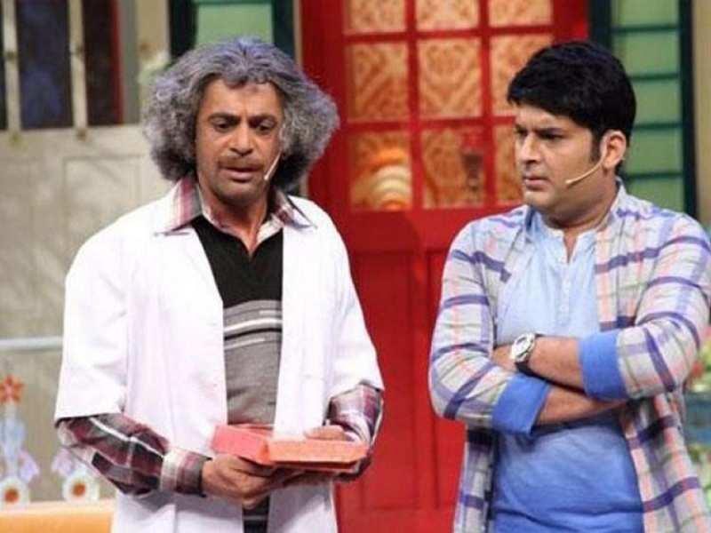 Kapil Sharma hit Sunil Grover with a shoe, confirms a crew member