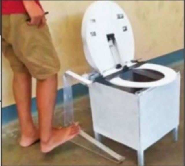 5 IIT-M students come up with tech that disinfects toilet seat