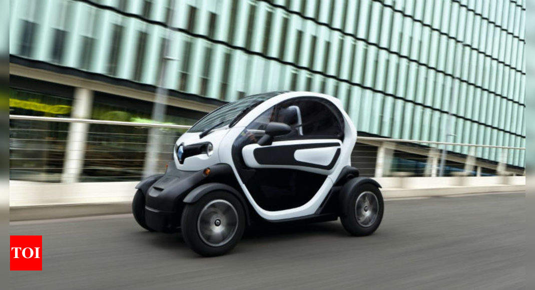 Renault Twizy An Old Player In The Electric Vehicle Segment Times Of India