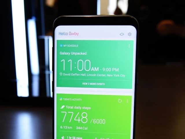 Samsung Galaxy S8's Bixby button can be remapped using one