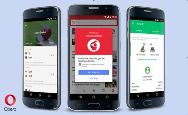 Opera Mini browser updated with 'Opera Cricket' feature