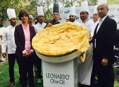 4ft 1inch of sheer indulgence, bhatura enters Limca Book of Records!