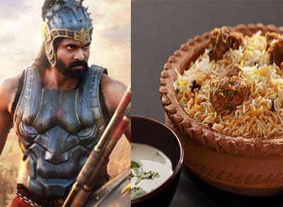 What does Bhallaladeva of Bahubali loves to eat?