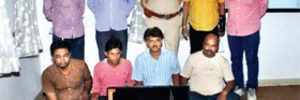 Police nab four for betting on IPL match