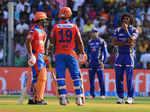 Malinga during IPL 2017