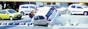 Car mows down 5 in Baner