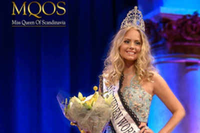 Hanna-Louise Haag Tuver crowned Miss World Sweden 2017
