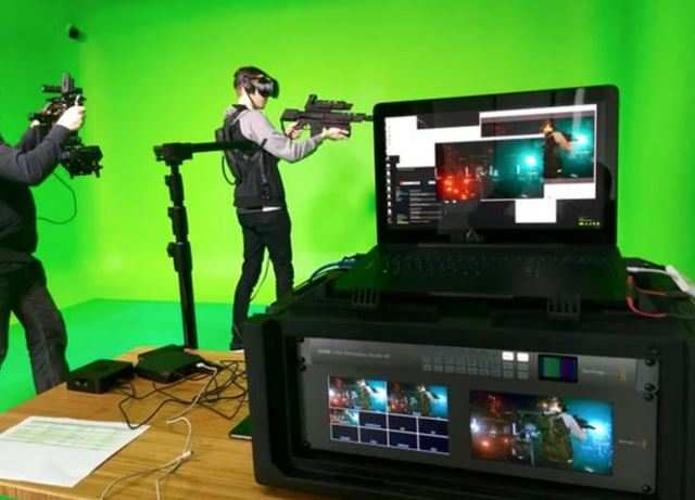 HTC Vive pushes mobile room-scale VR, real-world props