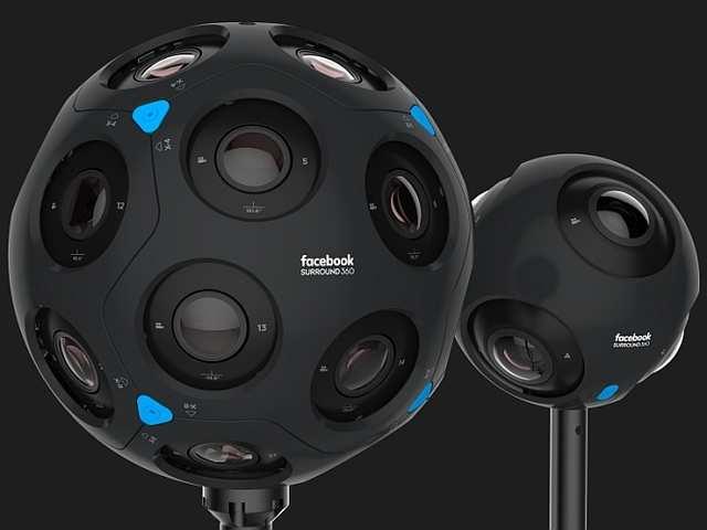 Facebook F8: New 'Surround 360' VR cameras announced