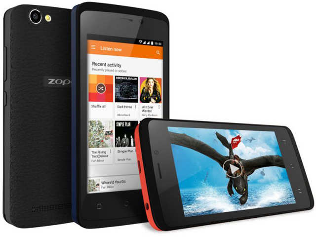 Zopo Color M4 smartphone with 1GB RAM, 5MP rear camera launched at Rs 4,999