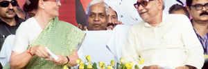 Nitish, Sonia plotting to counter BJP?
