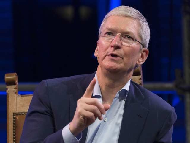 When Apple CEO Tim Cook scolded Uber CEO Travis Kalanick