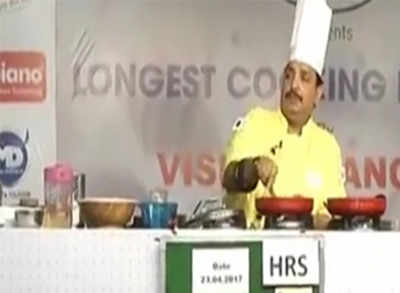 Indian chef makes world record for 53 hours of non-stop cooking!